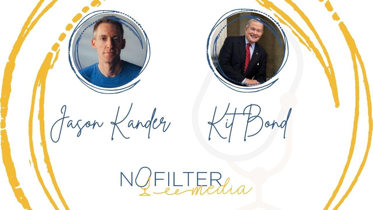Jason Kander and Kit Bond